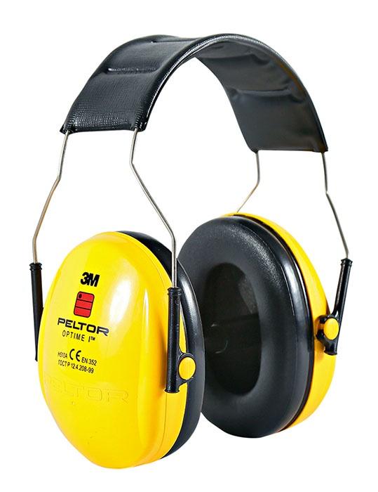 Наушники защитные 3M H510A-401-GU, черный, желтый 3m peltor skull screw earplugs 120 pair