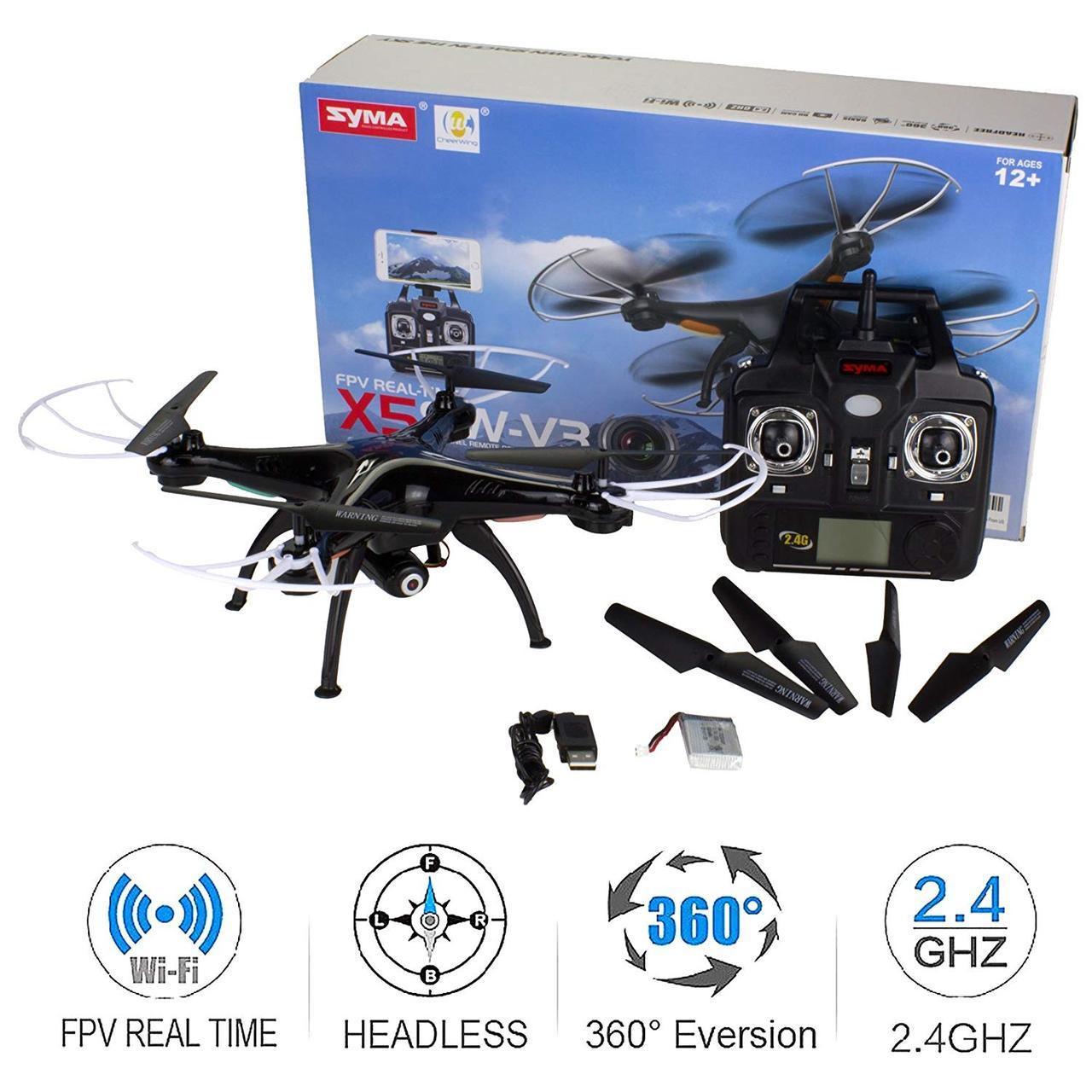 Квадрокоптер Syma X5SW Syma