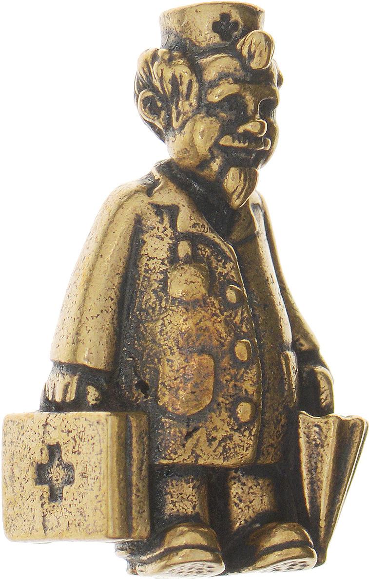 Денежный сувенир Miland Талисман доктор, Т-3675, золотой