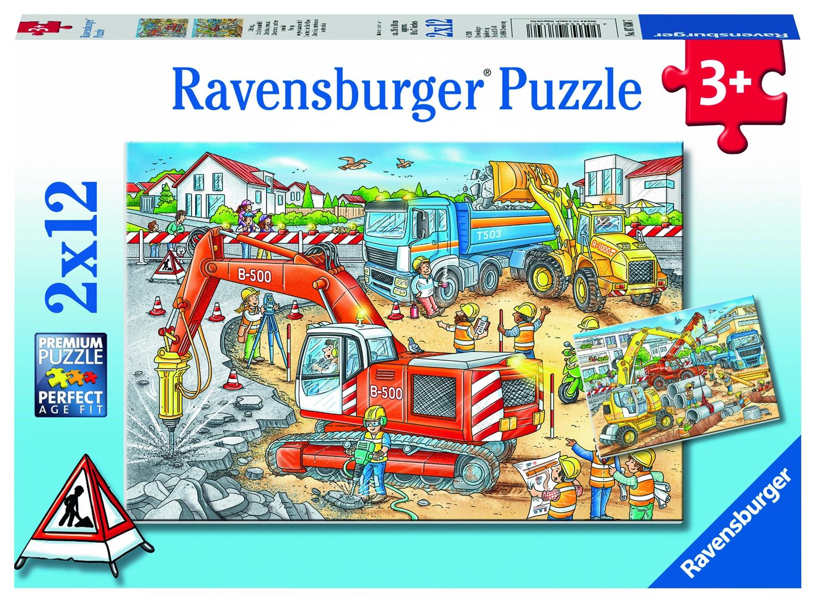 Пазл для малышей RAVENSBURGER 07630 пазл ravensburger пряжа 19515