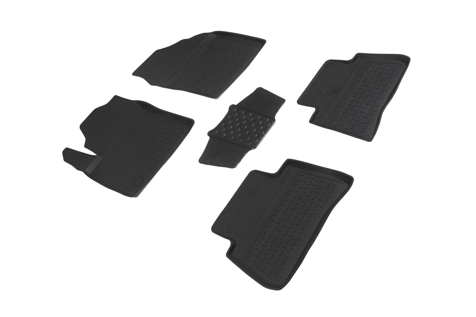 развивающие коврики Коврики в салон автомобиля Seintex Резиновые коврики с высоким бортом для Toyota CH-R 2016-н.в.