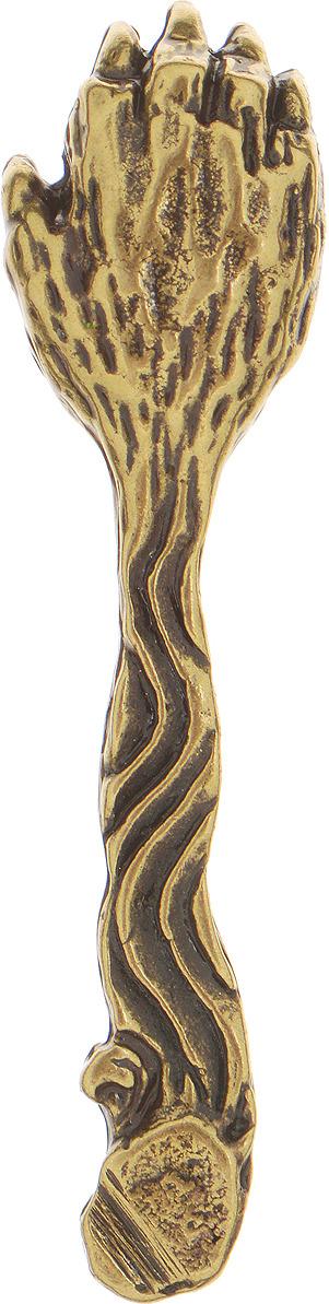 Денежный сувенир Miland Ложка-загребушка Медвежья лапа, Т-6936, золотой