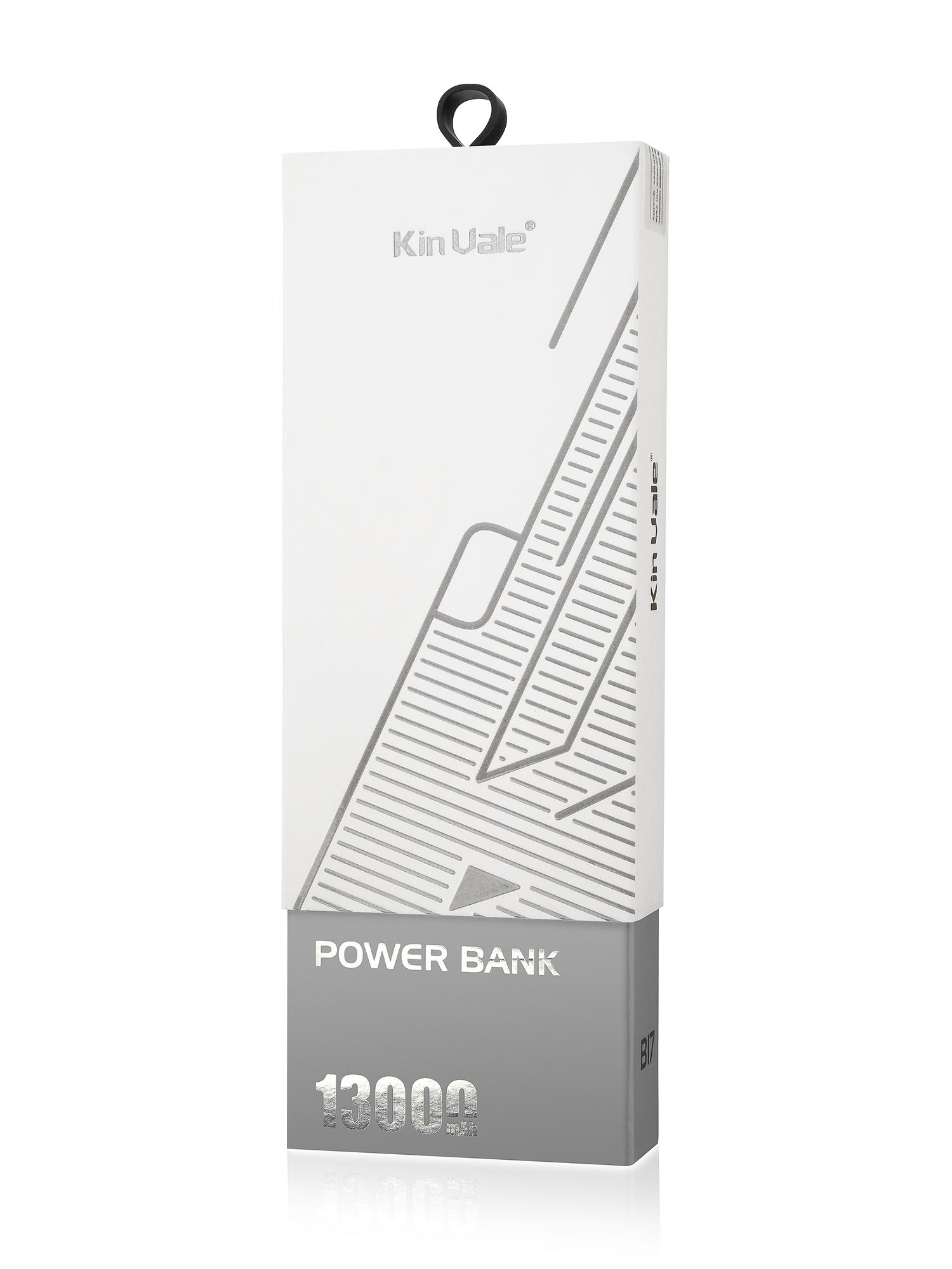 Беспроводное зарядное устройство Power Bank, белый