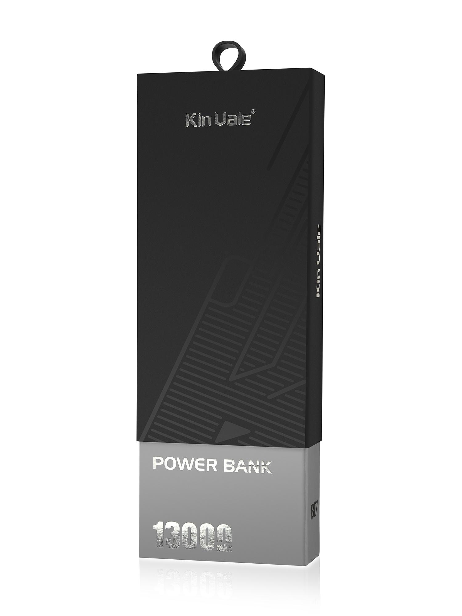 Беспроводное зарядное устройство Power Bank, черный