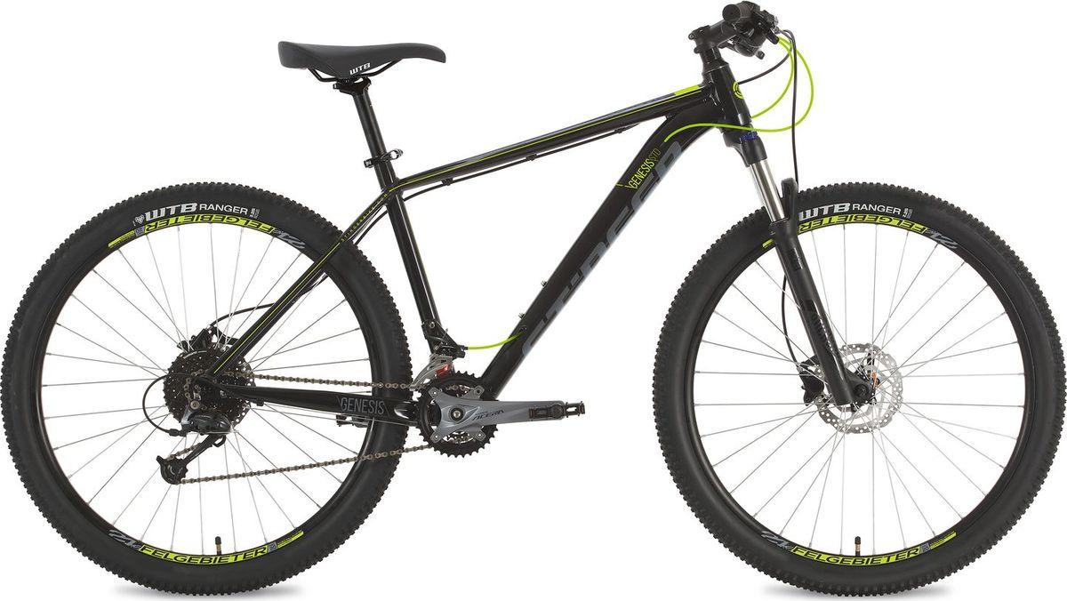 Велосипед горный Stinger Genesis Std, колесо 27.5, рама 16, 27AHD.GENESSTD.16BK8, черный