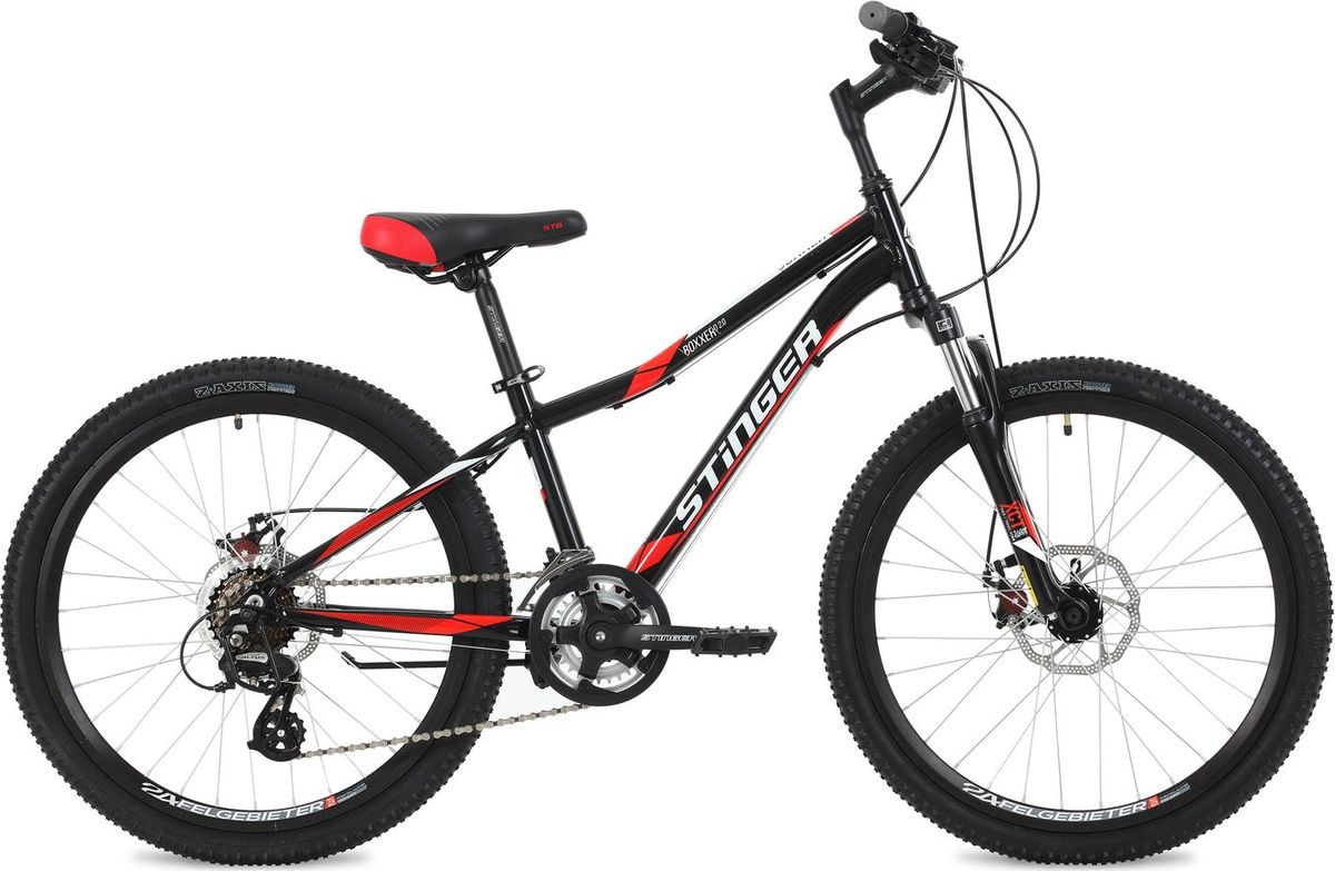 "<b>Велосипед горный Stinger Boxxer</b> D, колесо 24"", рама 14"", 24AHD ..."