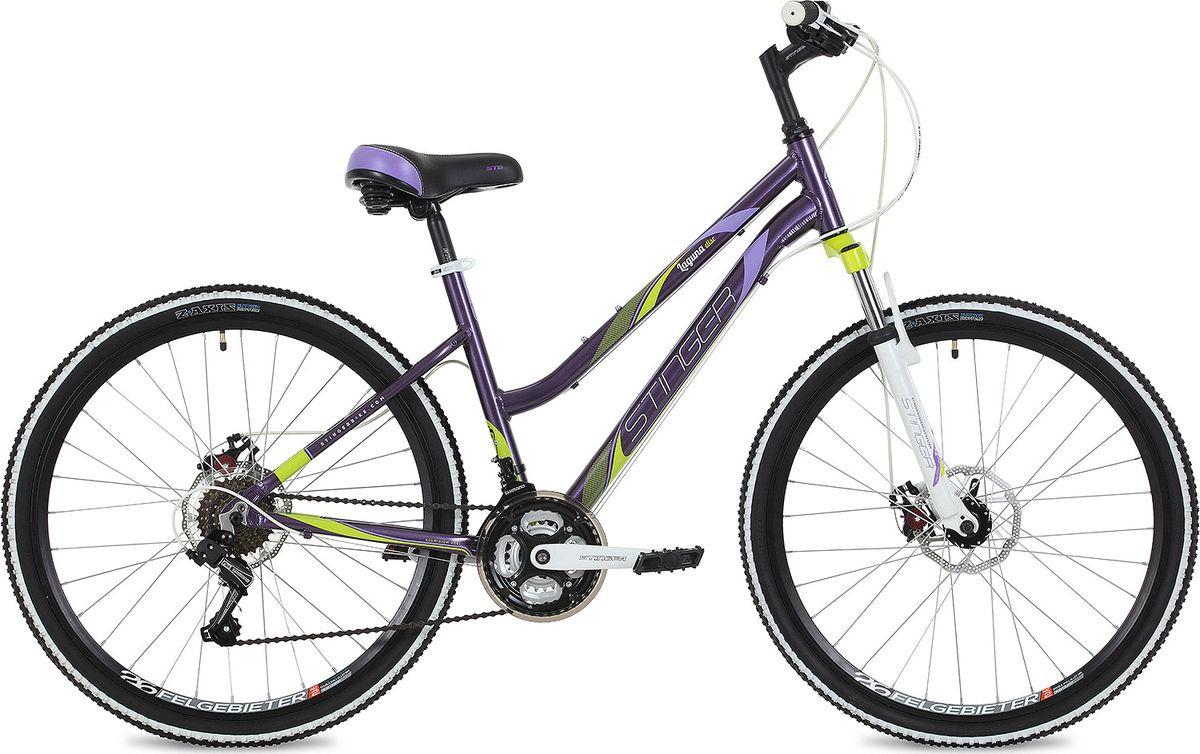 цена на Велосипед горный Stinger Laguna D, колесо 26