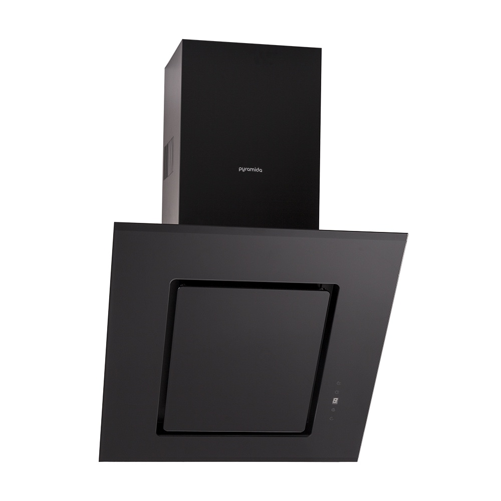 Вытяжка Pyramida BT 60 S BLACK, черный цены