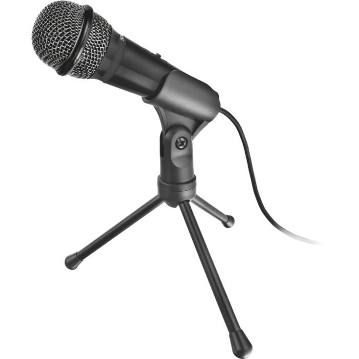 Микрофон Trust Starzz USB All-round Microphone (21993), черно-серый external usb microphone for gitup git1 git2 action camera