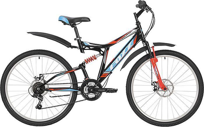 Велосипед горный Foxx Freelander, колесо 26, рама 18, 26SFD.FREELD.18BK9, черный
