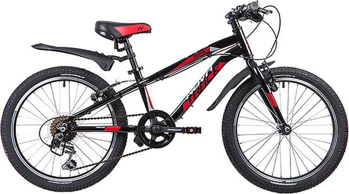 Велосипед детский Novatrack Prime, колесо 20, рама 10, 20AH6V.PRIME.BK9, черный