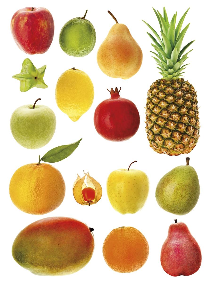 Картинки с фруктами для малышей
