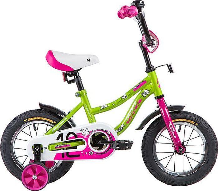 Велосипед детский Novatrack Neptune, колесо 12, рама 8,5, 123NEPTUN.GN9, синий велосипед novatrack neptune 12 2016