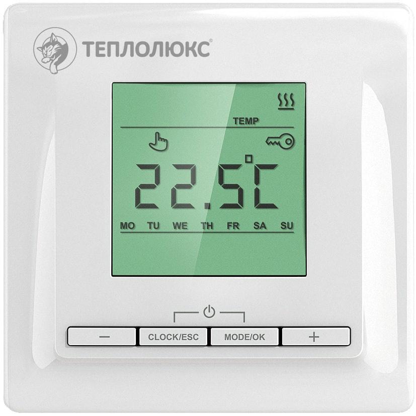 Терморегулятор теплого пола Теплолюкс 2153749 теплолюкс тр 515