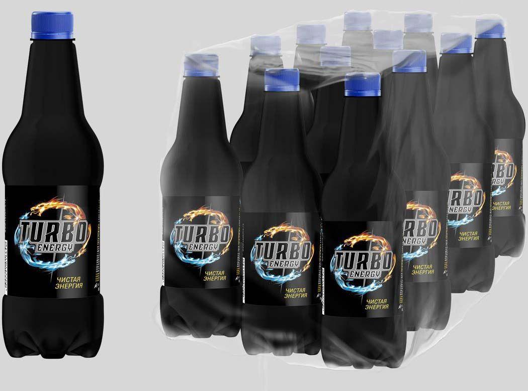 Энергетический напиток Напитки из Черноголовки Turbo Energy, 12 шт по 450 мл