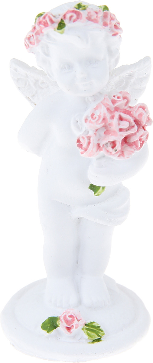 Статуэтка Miland Ангел с букетом, Т-0763, мультиколор