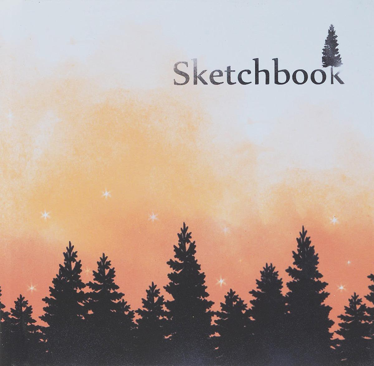 Скетчбук Miland Горы, 15 x 15 см, 80 листов