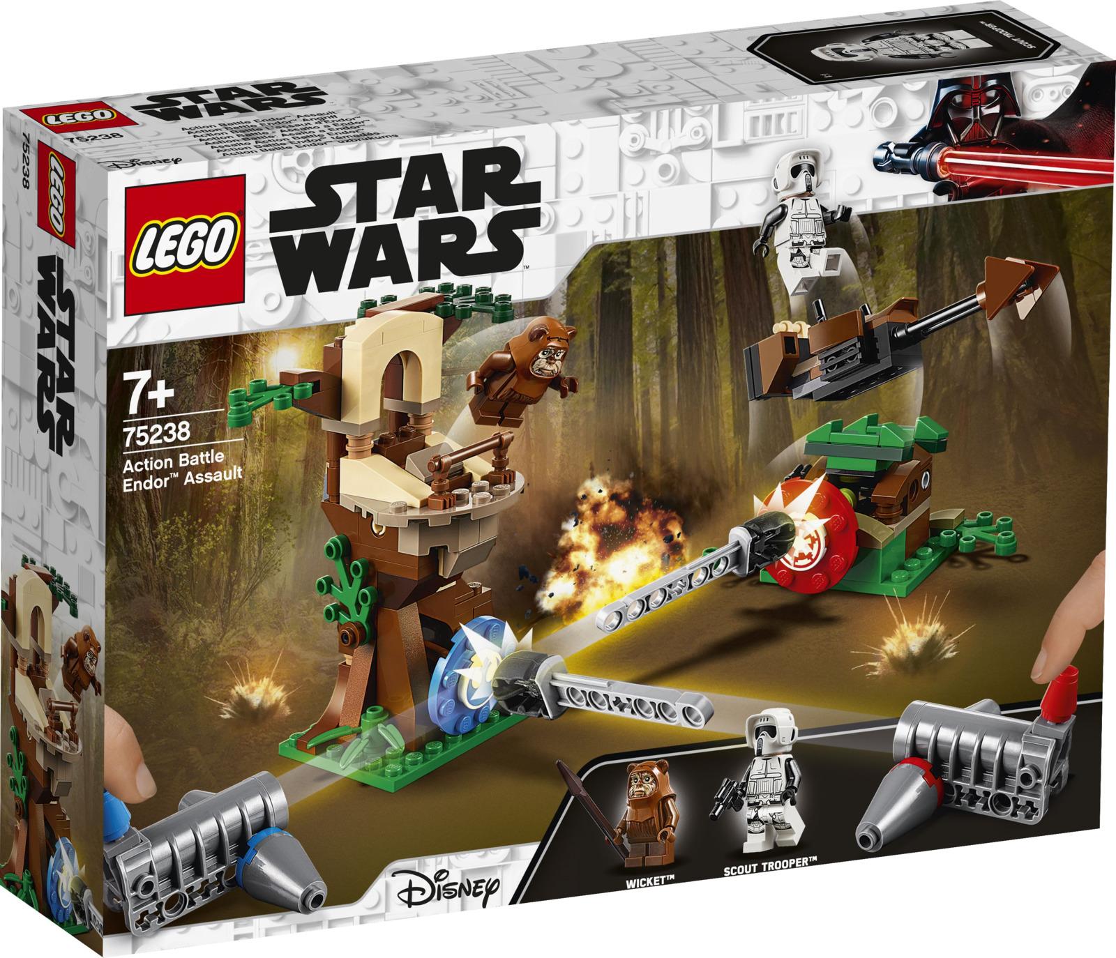 LEGO Star Wars 75238 Нападение на планету Эндор Конструктор