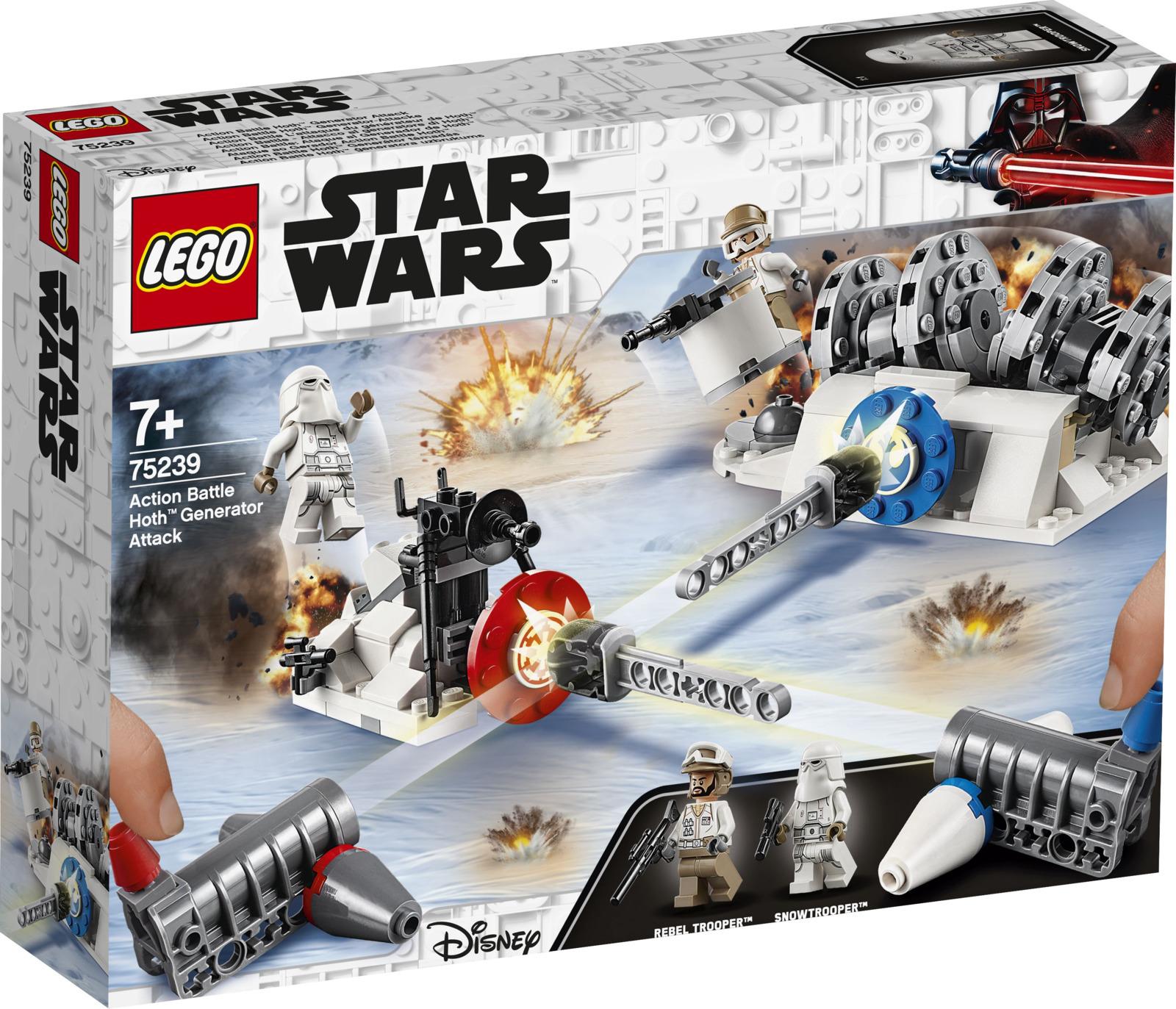 LEGO Star Wars 75239 Разрушение генераторов на Хоте Конструктор