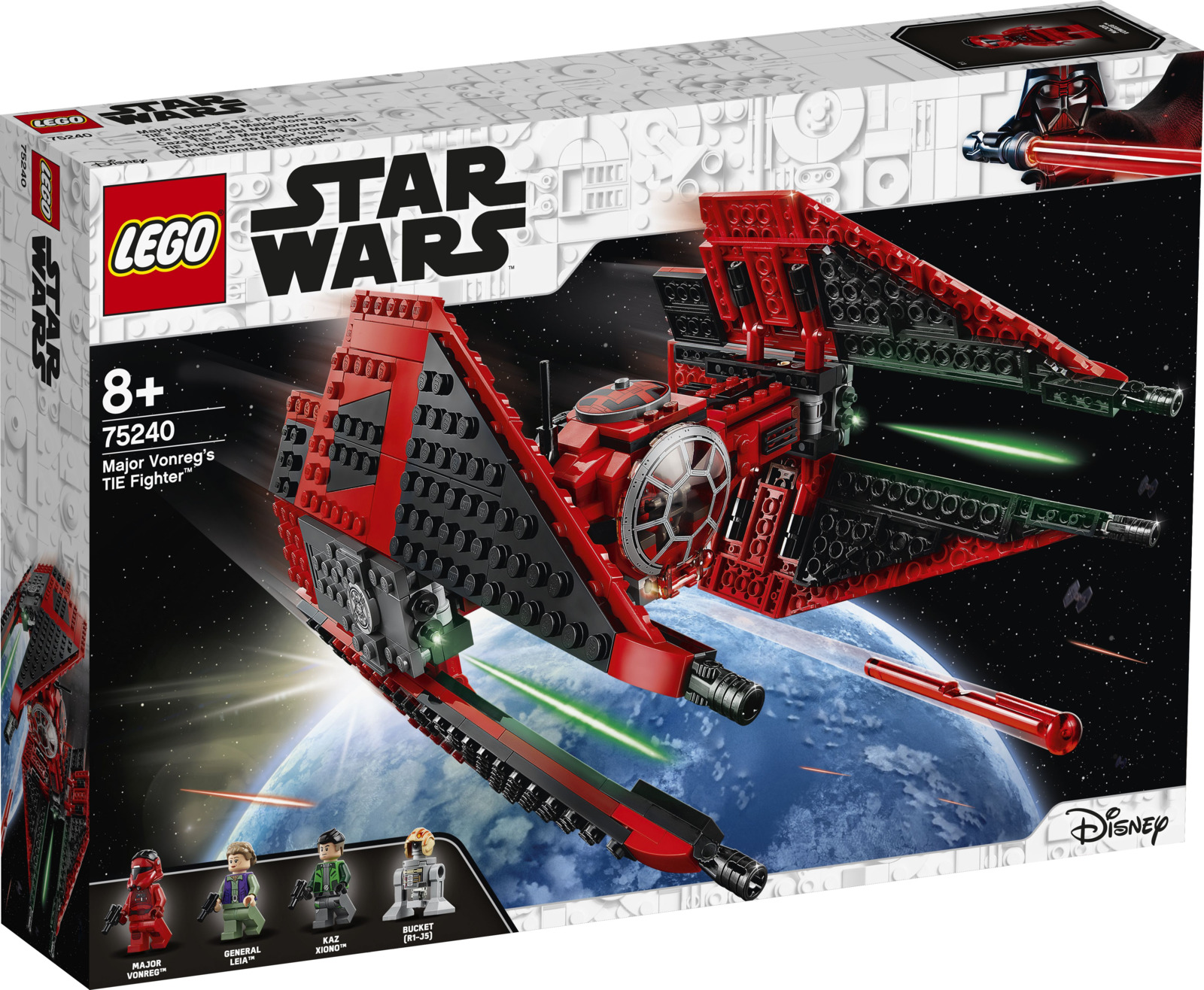 LEGO Star Wars 75240 Истребитель СИД майора Вонрега Конструктор