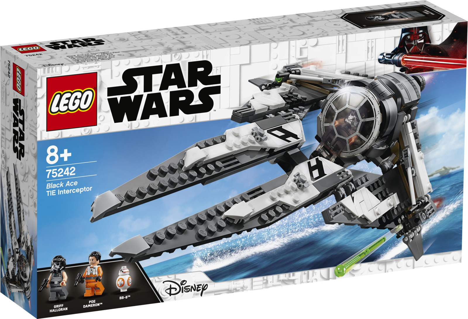 LEGO Star Wars 75242 Перехватчик СИД Черного аса Конструктор