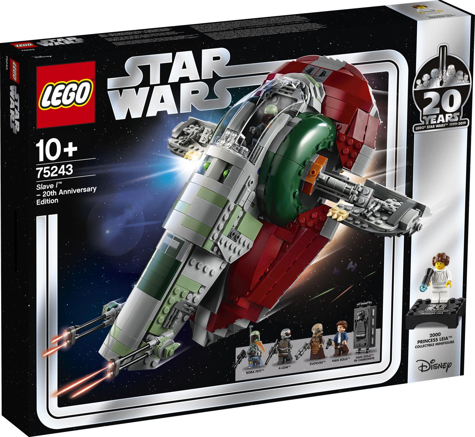LEGO Star Wars 75243 Раб I выпуск к 20-летнему юбилею Конструктор