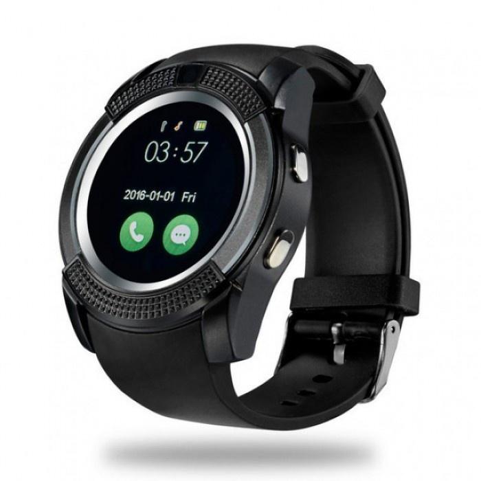 Умные часы No Name V8 Plus, черный цены