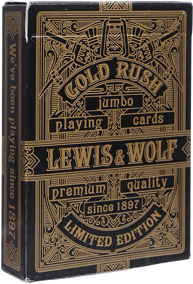 Игральные карты Miland Lewis & Wolf, ИН-3829, 63 х 88 мм, 54 шт сувенирные игральные карты miland черное море ин 2498 54 шт