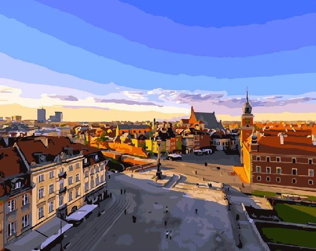 Картина по номерам ВанГогВоМне Варшава в январе стоимость авиабилета москва варшава