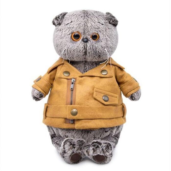 Мягкая игрушка Budi Basa Басик в куртке косухе 22 см