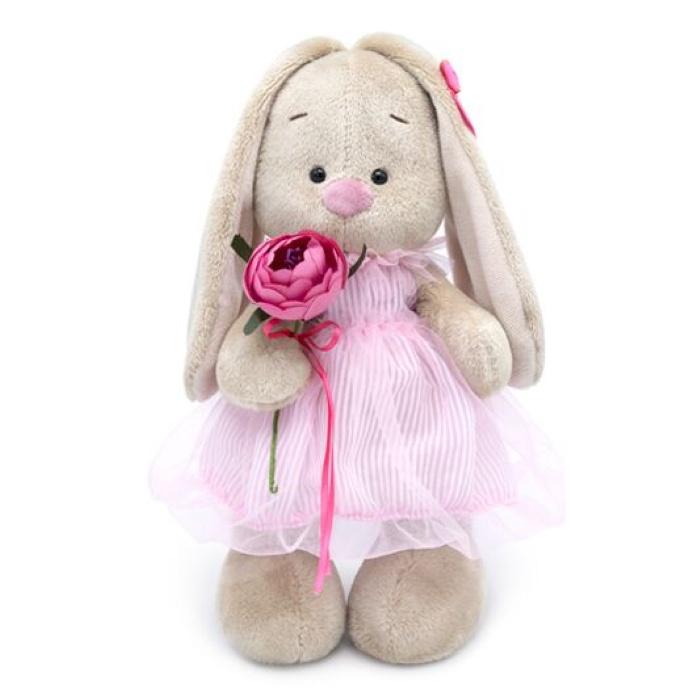 Мягкая игрушка Budi Basa Зайка Ми в платье-баллон 25 см