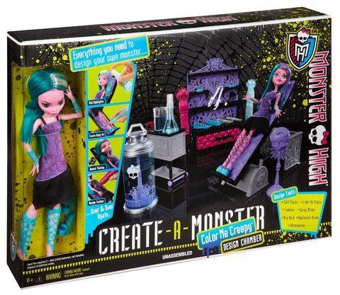 Игровой набор Mattel Раскрась монстра - Дизайнерская лаборатория