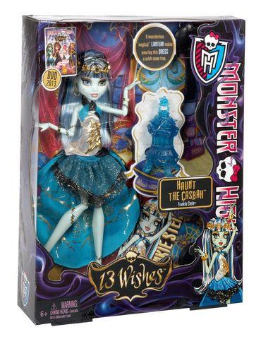 Кукла Mattel Фрэнки Штейн - 13 желаний mattel monster high dvh72 школа монстров электро фрэнки из серии под напряжением