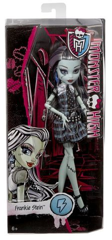 Кукла Mattel Фрэнки Штейн Базовая без питомца mattel monster high кукла призрачно clawdeen wolf