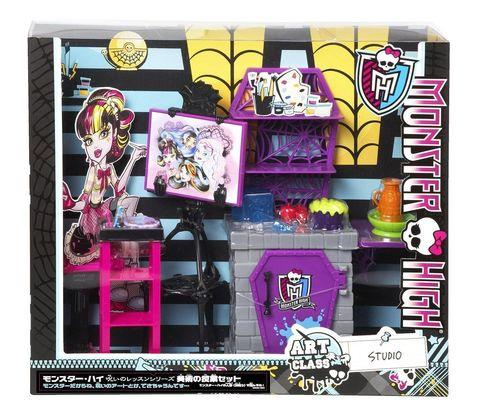 Игровой набор Mattel Студия Дракулауры Художественный класс игровой набор для девочки ранок студия маникюра вамп