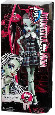 все цены на Кукла Mattel Фрэнки Штейн - серия Страшно-огромные, 42 см онлайн