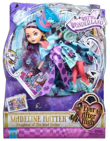Кукла Mattel Меделин Хеттер - Страна Чудес