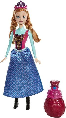 Кукла Mattel Анна Холодное Сердце, Меняющая цвет кукла mattel купидон серия день рождения