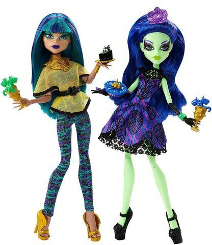цена на Кукла Mattel Нефера и Аманита Монстер Хай