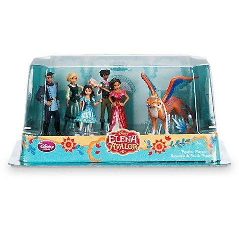 Мини-кукла Disney Набор фигурок серия Елена, Принцесса Авалора