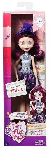Кукла Mattel Рейвен Квин Чайная вечеринка пенал 2ств средн mattel ever after high малин без наполнения 4250504