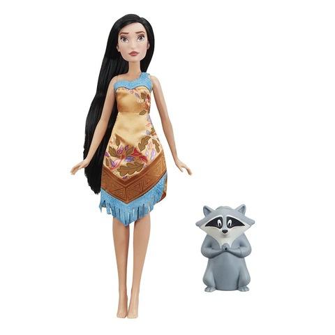 Кукла Hasbro Дисней Покахонтас с питомцем disney princess 754910 принцессы дисней малышка с питомцем 15 см в ассортименте