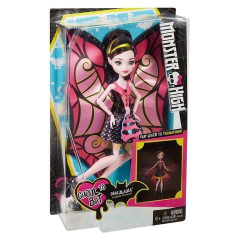 Кукла Mattel Дракулаура - Превращения mattel monster high кукла призрачно clawdeen wolf