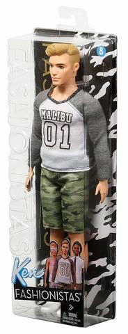 Кукла Mattel Кен Barbie Игра с модой цена