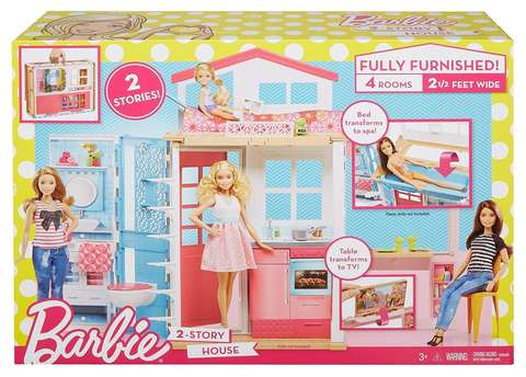 Игровой набор Mattel Домик Барби Barbie цена