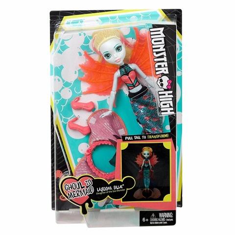 Кукла Mattel Лагуна - Превращения цены онлайн