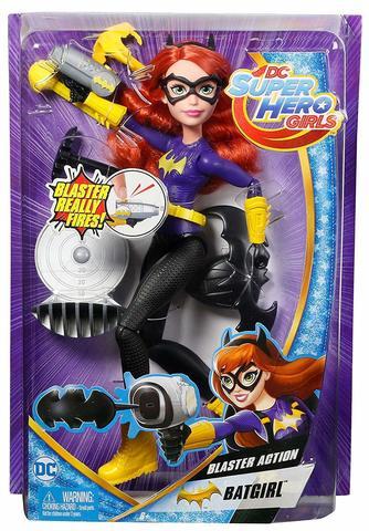 Кукла Mattel Бэтгерл Супергероини, с бластером