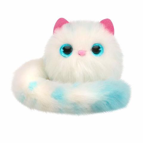 Котенок Pomsies Снежок интерактивная игрушка чикко игрушка котенок музыкальный