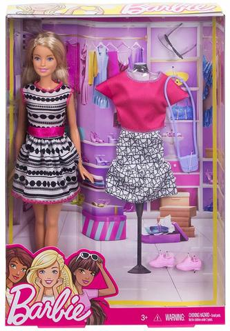 Кукла Mattel Barbie с набором одежды цена