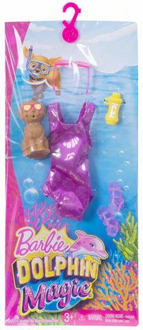 Одежда для кукол Mattel Одежда Barbie Тропический пляж инновации для детей набор мыльная мастерская тропический микс